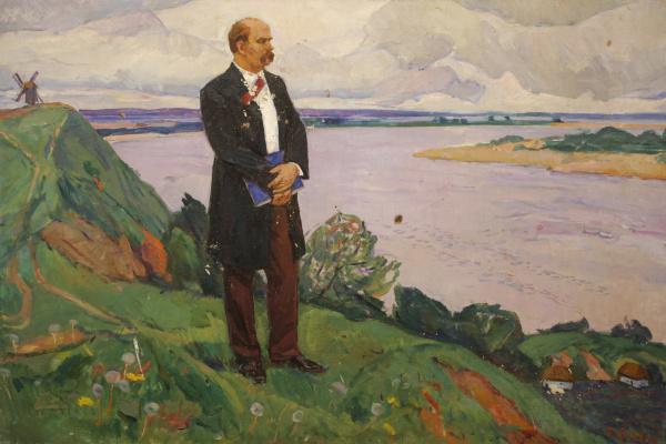 Petr Stepanovich Voznyuk. Shevchenko on the Dnieper