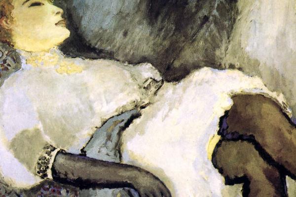 Kees Van Dongen. Lady in Black Gloves