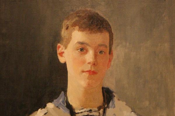 Валентин Александрович Серов. Портрет великого князя Михаила Александровича в детстве