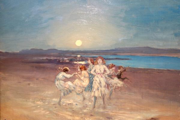 Джордж Уильям Расселл. Дети, танцующие на мелководье