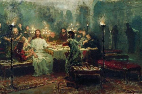 Ilya Efimovich Repin. The last supper