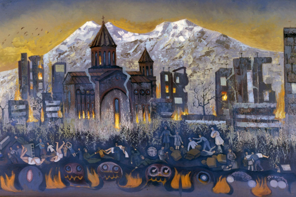 Корюн Григорьевич Нагапетьян. Землетрясение в Гюмри 9 декабря 1988 года