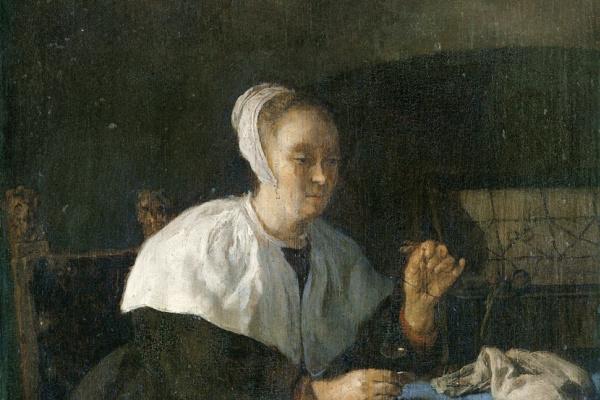Gabrielle Metsu. Die Goldwägerin