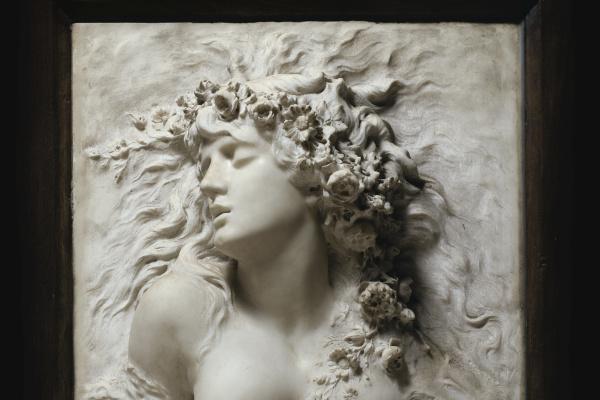 Sarah Bernard. Ophelia