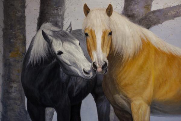 Savely Kamsky. Horses. Love