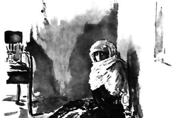 Валентин Александрович Серов. Бэла. Иллюстрация к роману «Герой нашего времени».