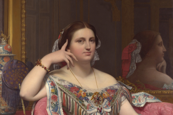 Jean Auguste Dominique Ingres. Madame Matise