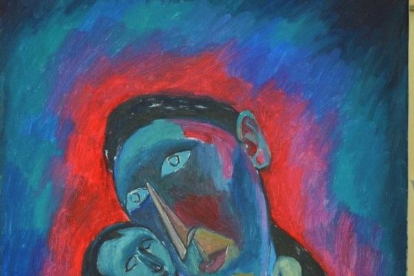 Виктор Безумов. Мадонна с младенцем
