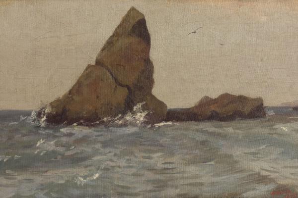 Arkady Alexandrovich Rylov. Rock Uzun-Tash