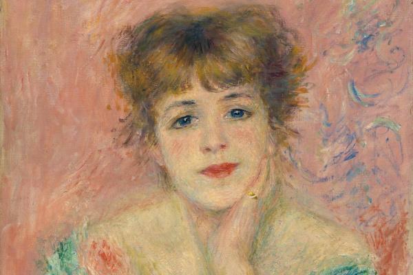 Pierre Auguste Renoir. Portrait of Jeanne Samary