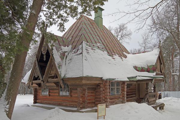 Иван Николаевич Ропет-Петров. 1877—1878 годы — баня-«теремок» в Абрамцеве