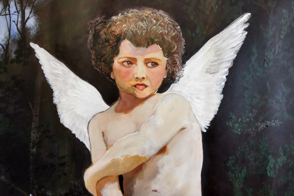 Дмитрий Юрьевич Буянов. Cupid.Купидон.фрагмент картины