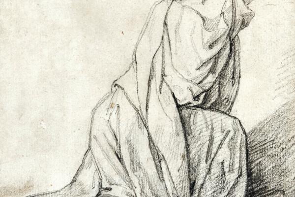 Théodore Géricault. Woman on her knees