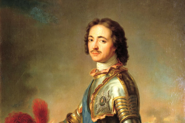 Жан-Марк Наттье. Портрет Петра I в рыцарских доспехах