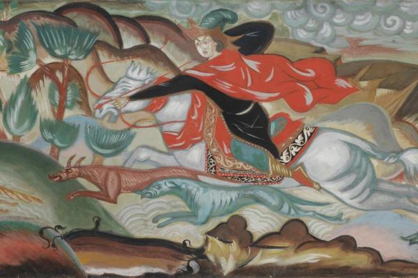 Дмитрий Семенович Стеллецкий. Охота на лиса