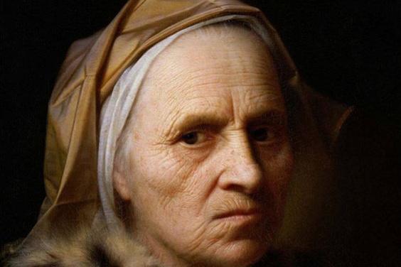 Бальтазар Деннер. Голова старухи (Портрет старухи)