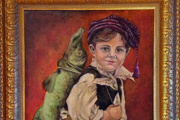 Анна Полянская. Маленький рыбак