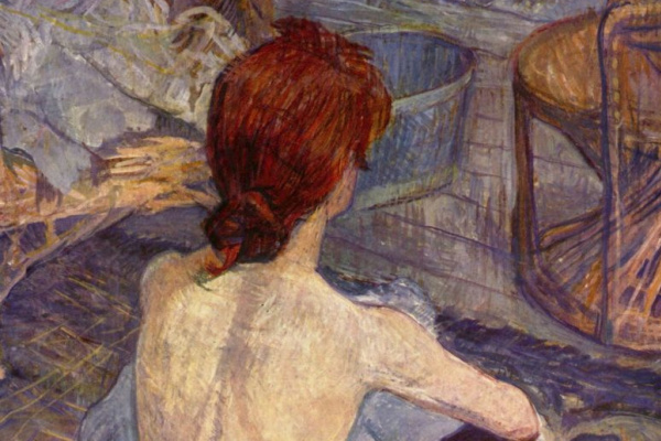 Henri de Toulouse-Lautrec. Bathroom