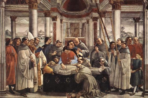 Domenico Girlandajo. St. Francis