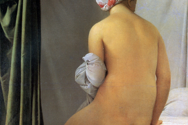 Jean Auguste Dominique Ingres. Seated bather (bather of Valpincon)