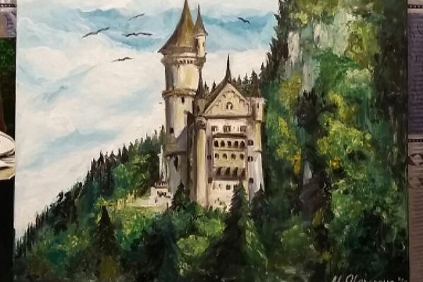 Margarita Vadimovna Olontseva. German castle