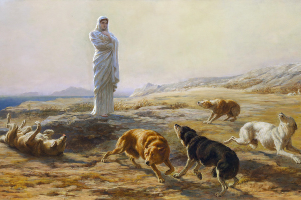 Брайтон Ривьер. Афина Паллада и собаки пастуха