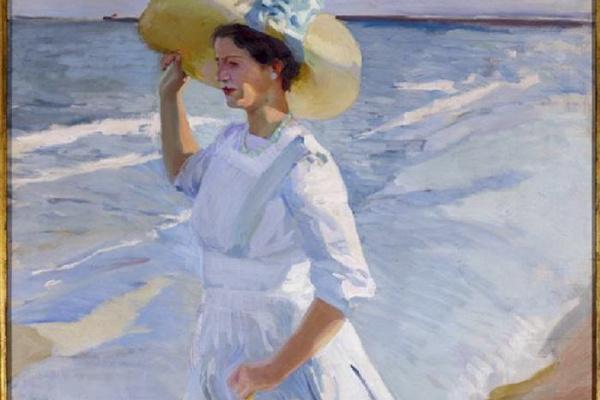 Хоакин Соролья (Соройя). Елена на пляже