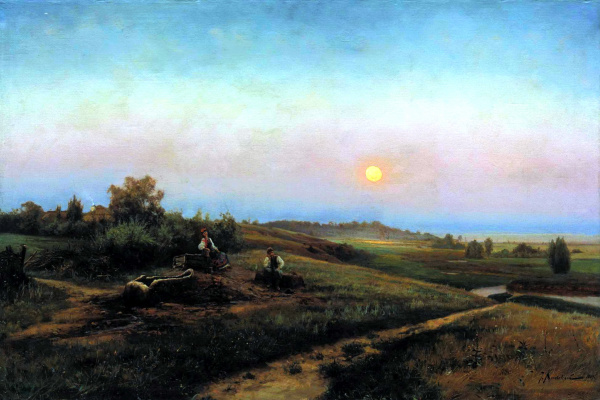Иосиф Евстафиевич Крачковский. Украинский вечер