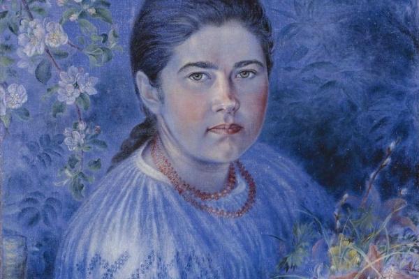 Ekaterina Vasilyevna Bilokur. Portrait Of Hope Bilokur