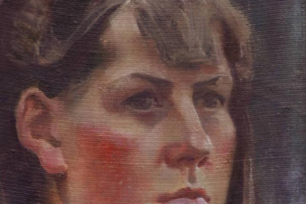 Дмитрий Владимирович Аверьянов. Портрет женский