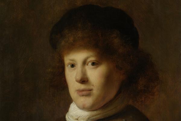 Ян Ливенс. Портрет Рембрандта ван Рейна