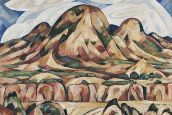 Marsden Hartley. The Landscape Of New Mexico