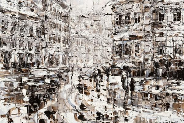 "Dmitry Alexandrovich Kustanovich. From the series ""Rains"""