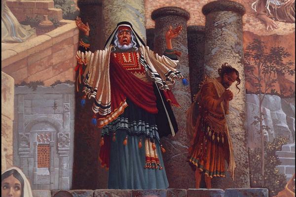 Джеймс Кристенсен. Фарисей и мытарь