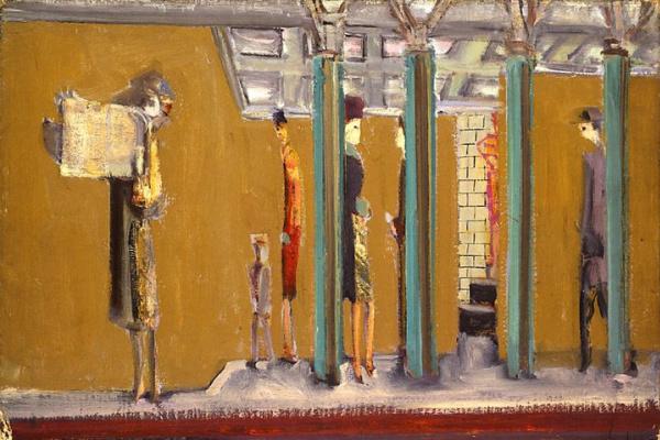 Rothko Mark. In the subway