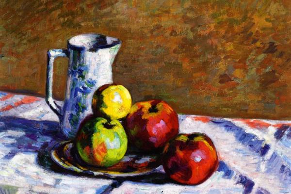 Арман Гийомен. Натюрморт с яблоками
