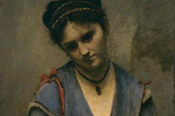 Камиль Коро. Портрет Мариэтт Гамбе