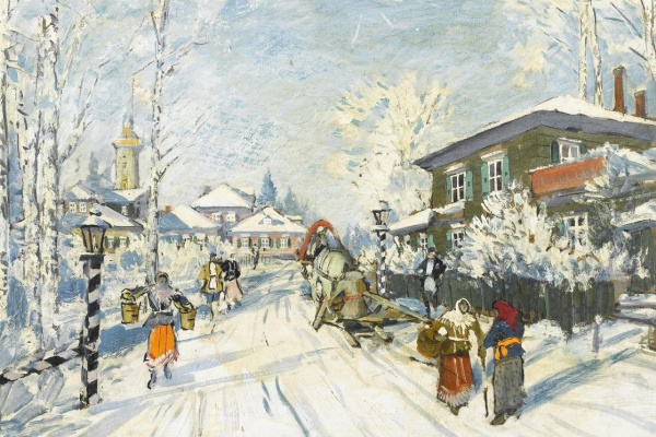 Константин Алексеевич Коровин. В России