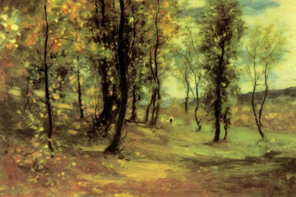 Nicolae Grigorescu. A clearing in the woods