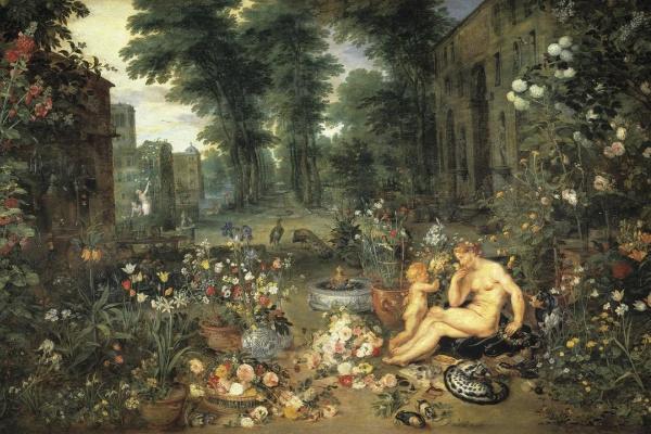 Peter Paul Rubens and Jan Brueghel the Elder. The sense of smell
