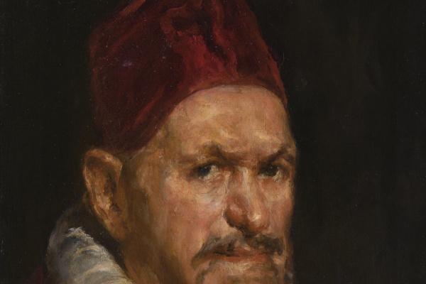 Валентин Александрович Серов. Портрет папы ИннокентияХ (копия картины Веласкеса)