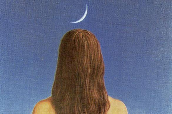 Rene Magritte. Evening dress