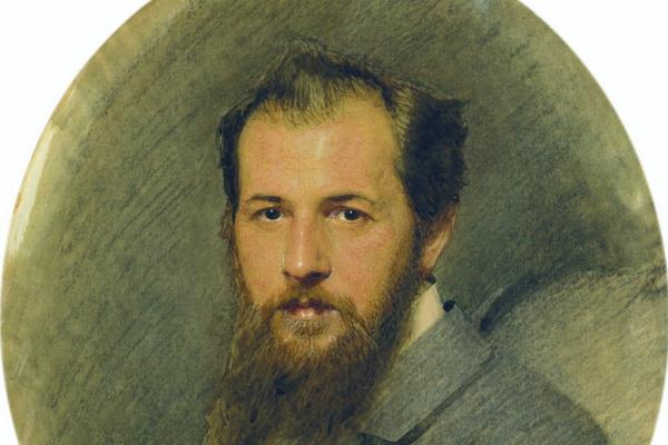 Иван Николаевич Крамской. Портрет И.-К.К. Будкевича