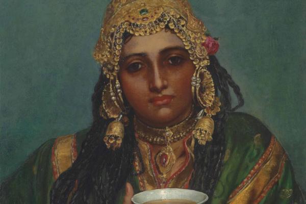 Валентин Принсеп. Мартаба, кашмирская танцовщица