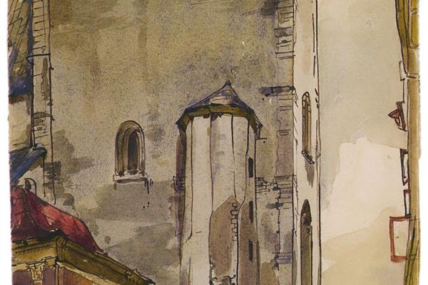 Сергей Николаевич Антонов. Церковь Олая в Ревеле