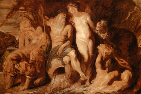 Peter Paul Rubens. Neptune and Amphitrite