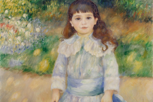 Pierre Auguste Renoir. Child with a whip