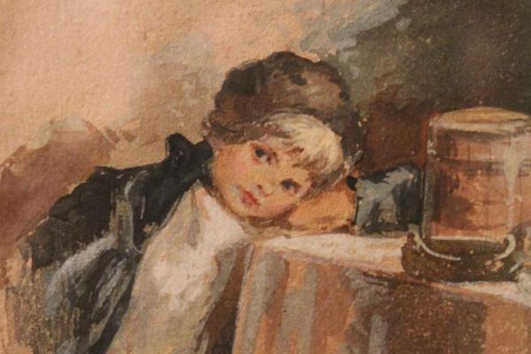 Елизавета Меркурьевна Бём (Эндаурова). Захмелел