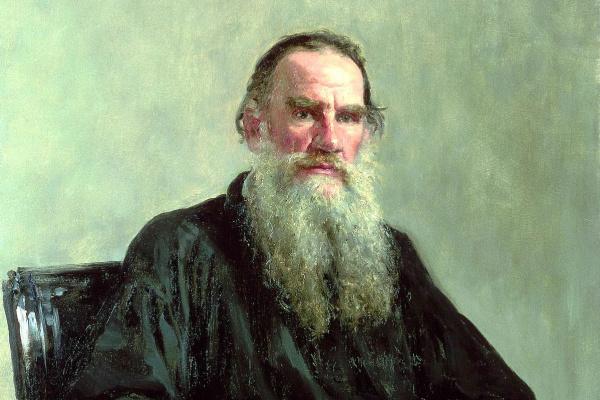 Илья Ефимович Репин. Портрет писателя Л.Н.Толстого