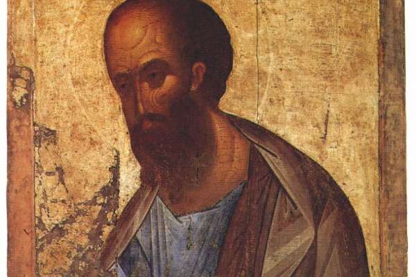 Andrey Rublev. The Apostle Paul